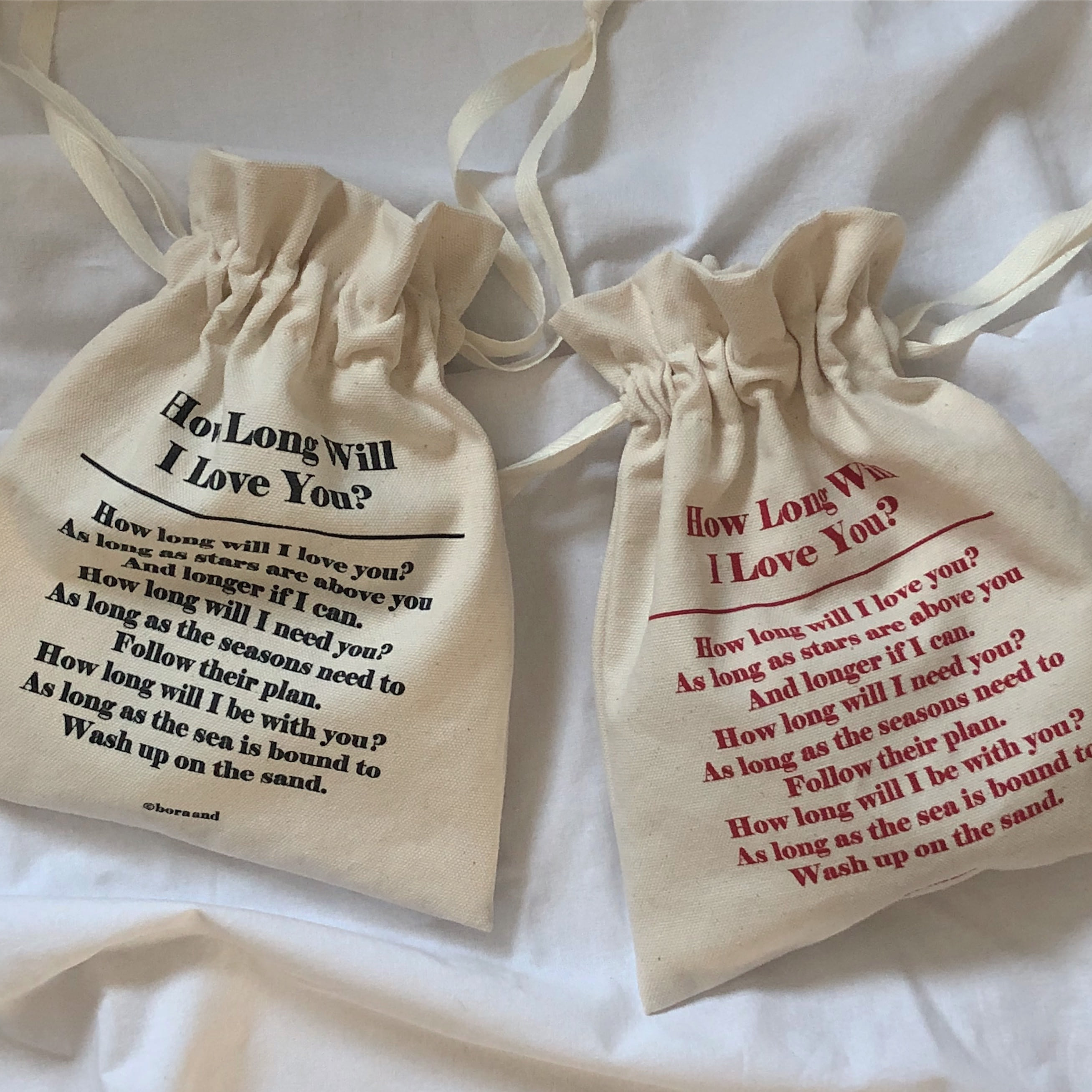 How long will i love you pouch (7차 재입고)