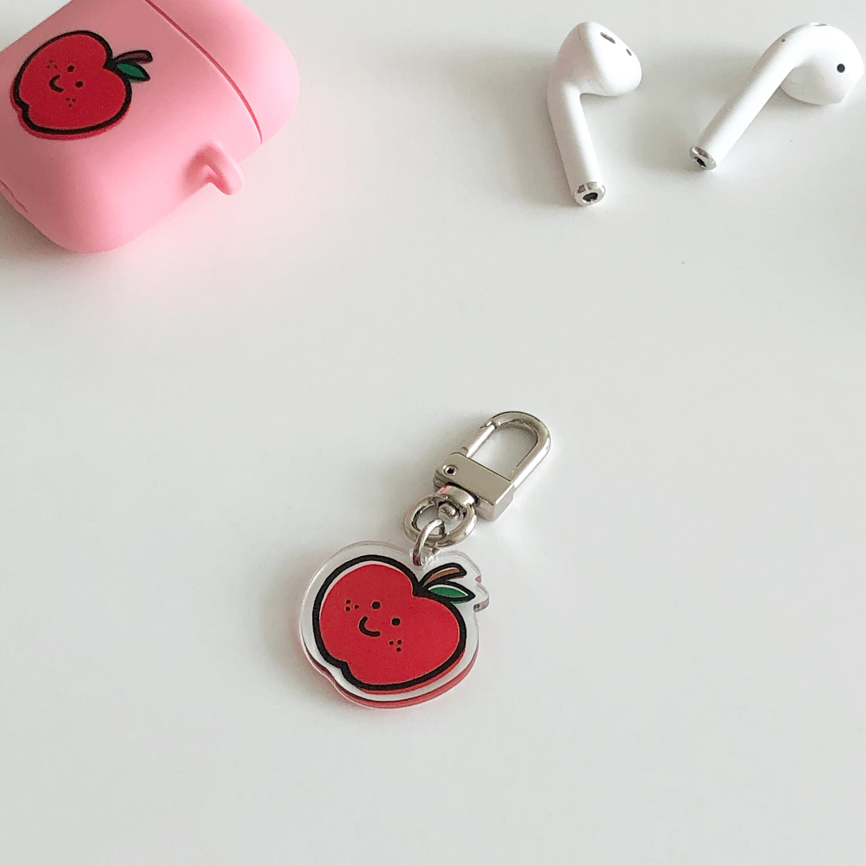 Apple key ring (아크릴)