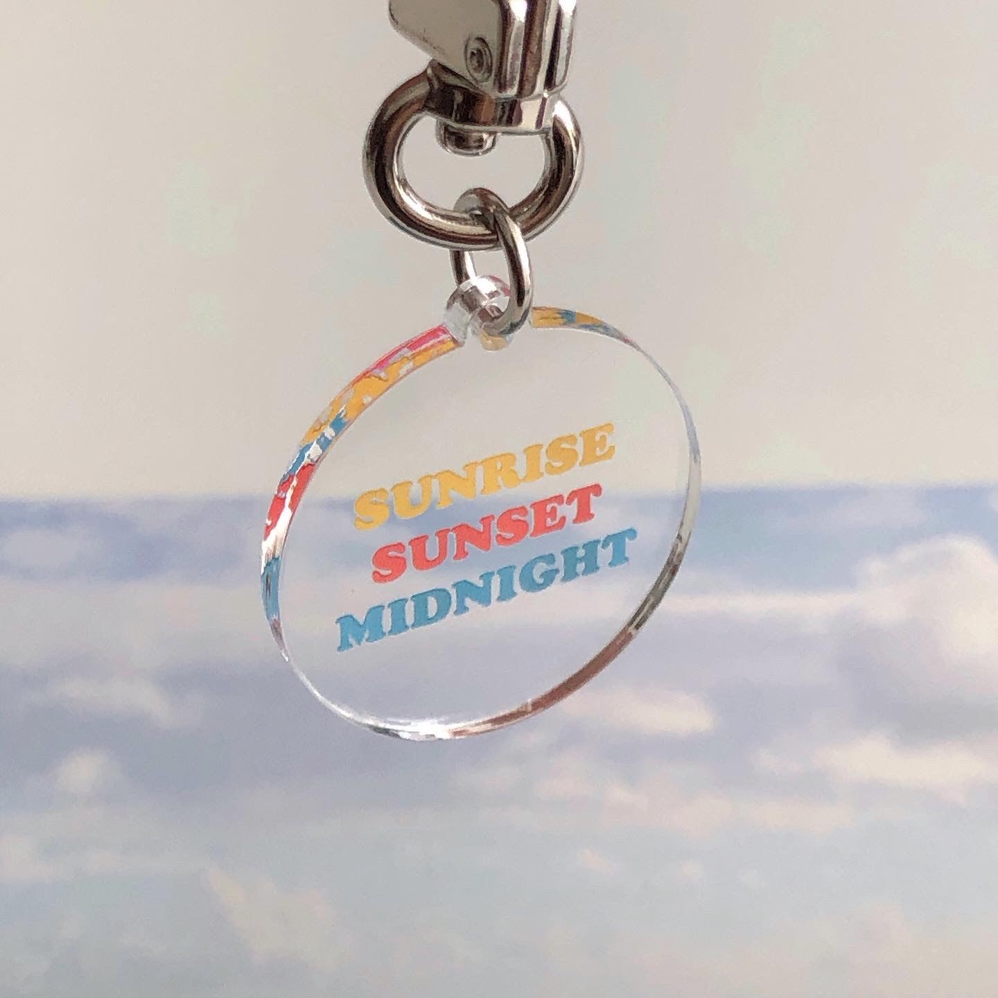 Sunrise key ring (아크릴)