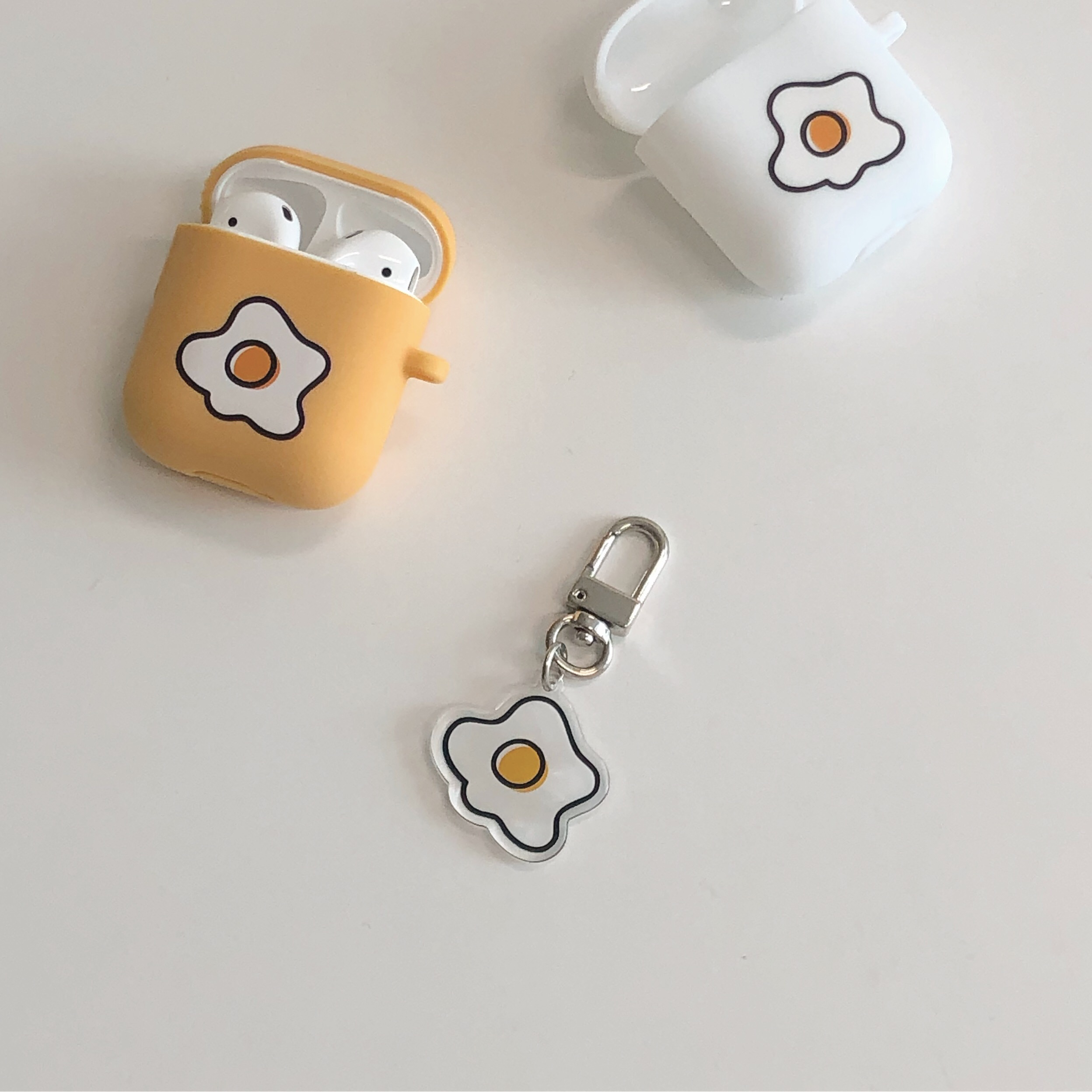 Egg key ring (아크릴)