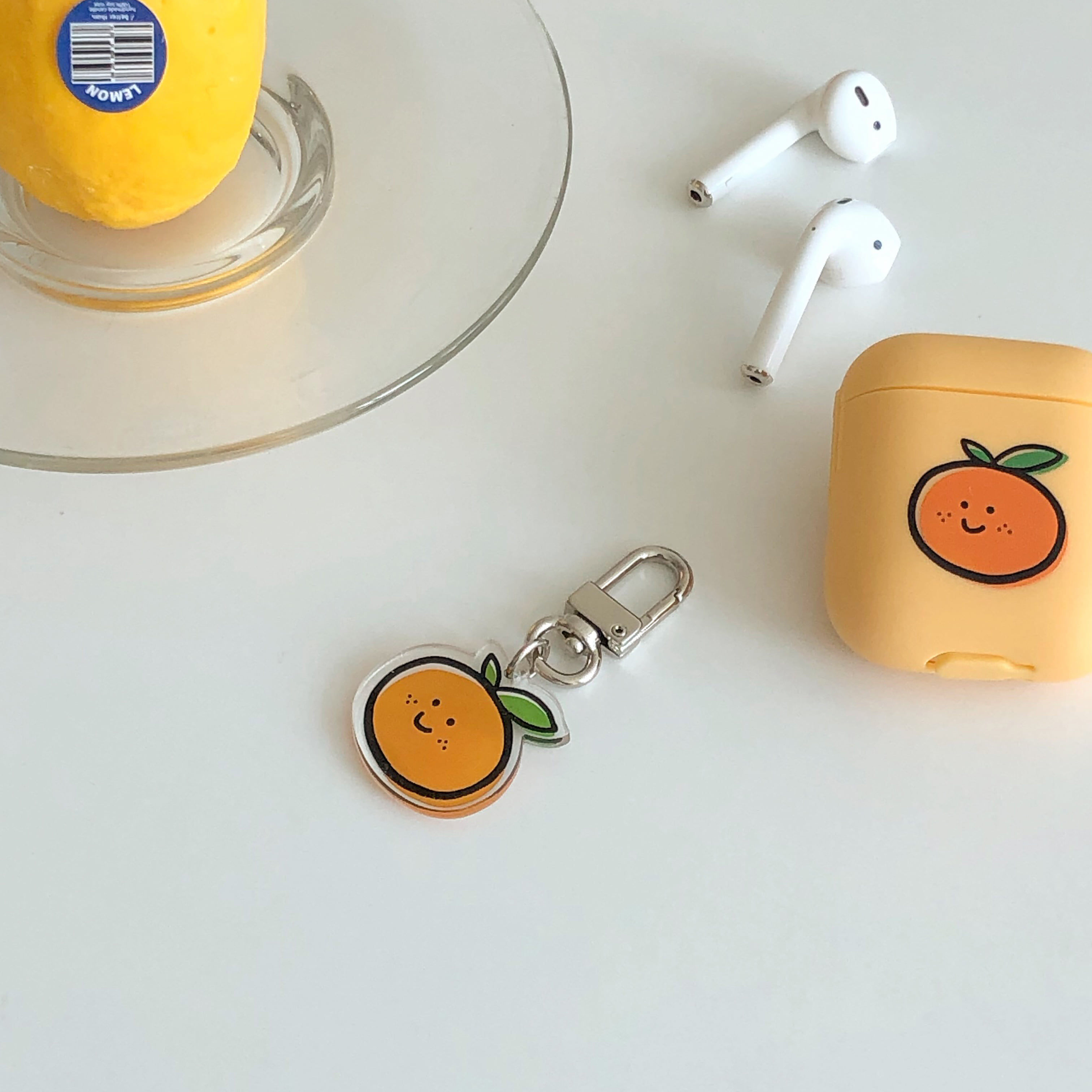 Tangerine key ring (아크릴)