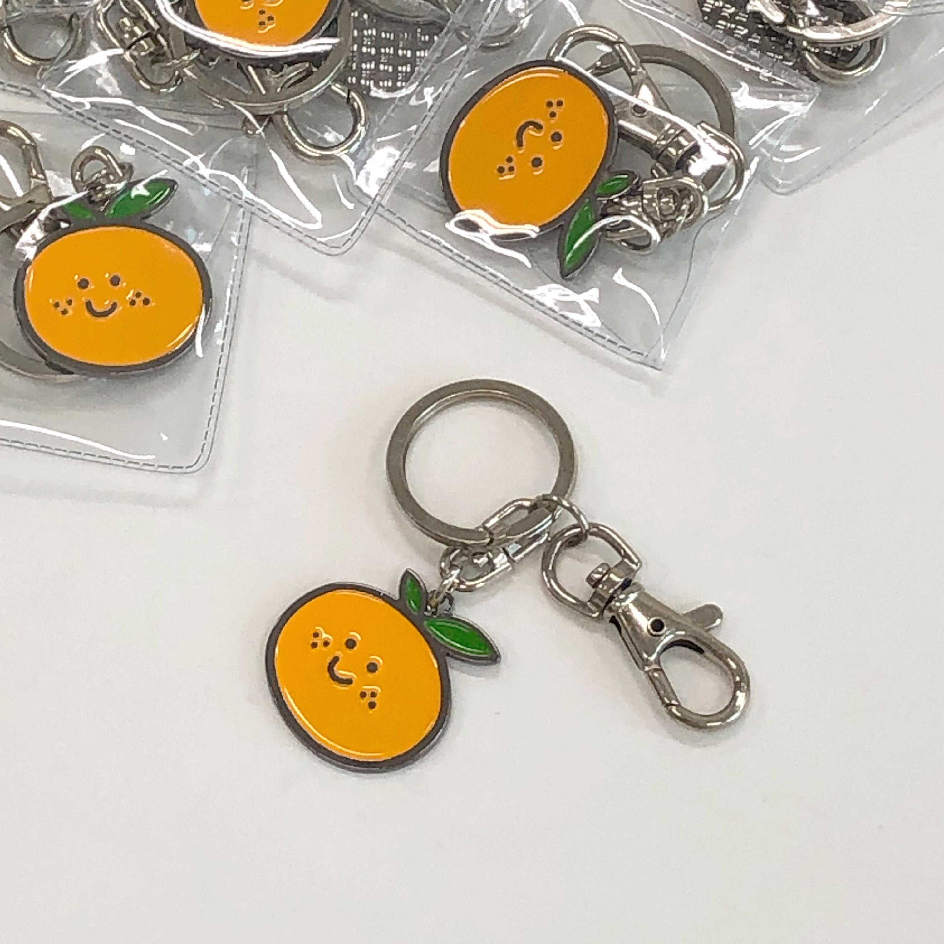 Tangerine key ring (금속)