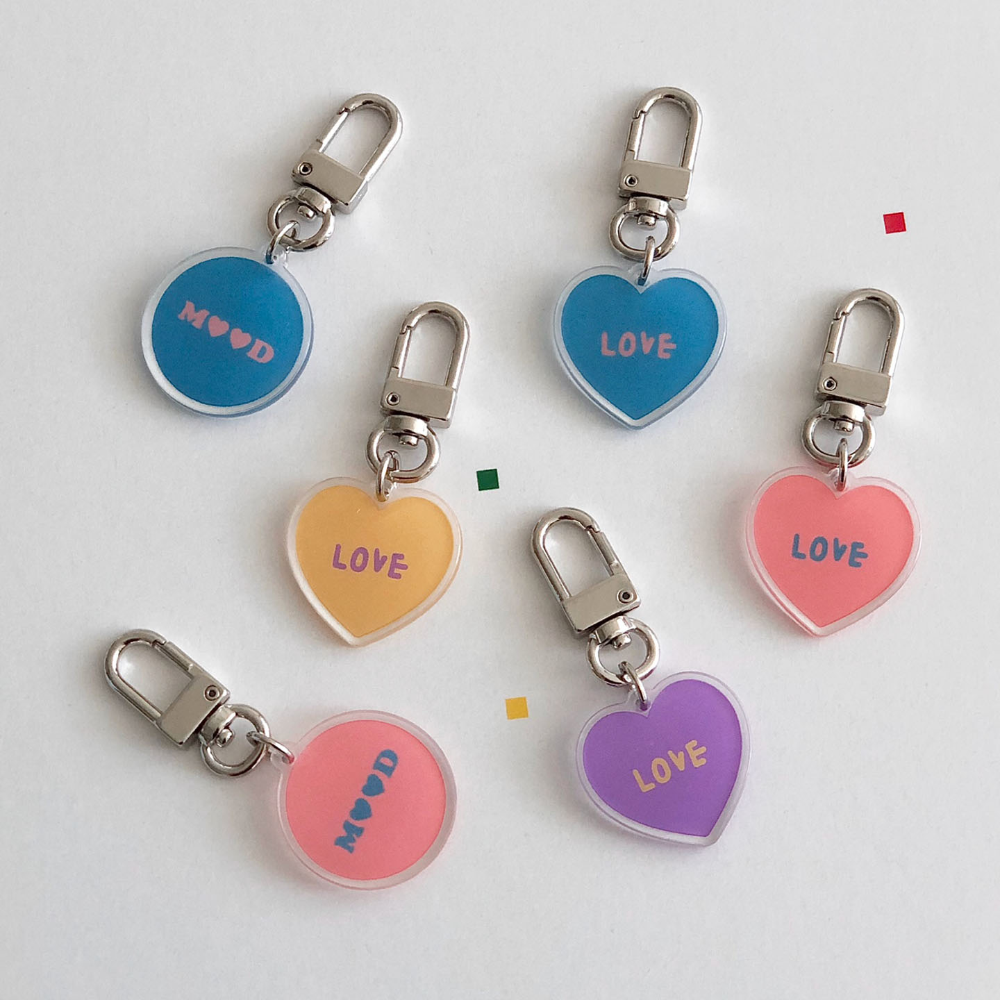 Love mood key ring (아크릴)
