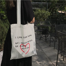 Heart eco bag