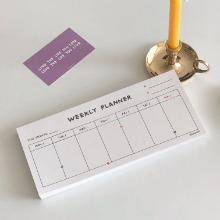 Love someone weekly planner